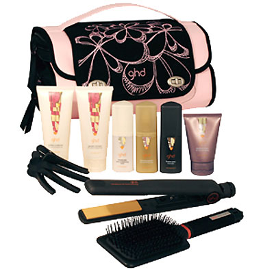 GHD Limited Edition Pink Heat-Styling Travel Bag