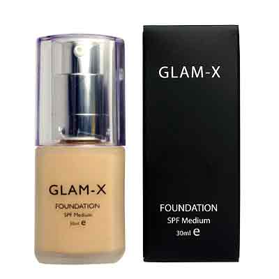 GLAM-X by Miss Bollywood Foundation for Asian Skin - 30ml_1
