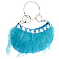 Paradise - Feather Handbag by Unze