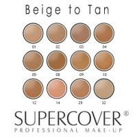 Supercover Foundation - Beige to Tan Skin Undertones 17g