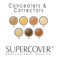 Supercover - Concealers & Correctors 17g