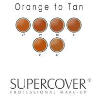 Supercover Foundations - Orange to Tan Undertones 17g