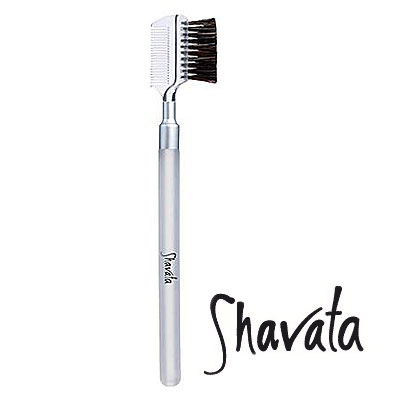Shavata Eyebrow & Lash Grooming Brush & Comb_1
