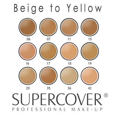 Supercover Foundation - Beige to Yellow Undertones 17g_1