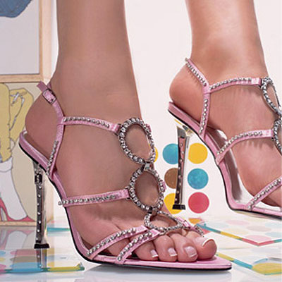 3 Ring Strappy Sandals by UNZE_1