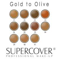 Supercover Foundations - Gold to Olive Undertones 17g