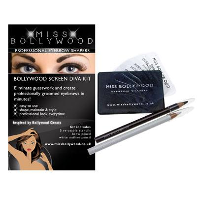 Bollywood Screen Diva Eyebrow Shaping Kit_1