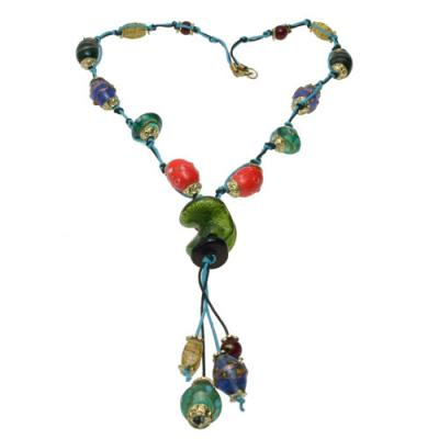 Island Breeze Hand Crafted Beaded Necklace_1