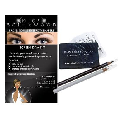 Screen Diva Eyebrow Shaping Kit_1